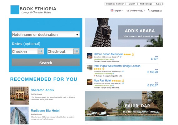 Booking-Ethiopia