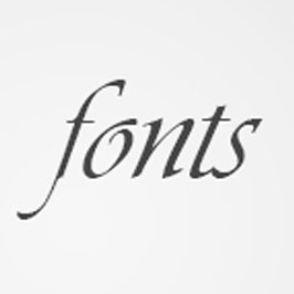 Fonts Website Link